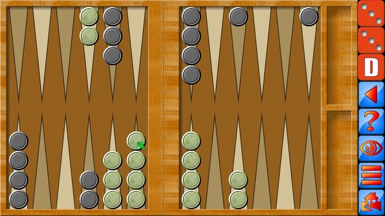 Backgammon V+ screenshot-3