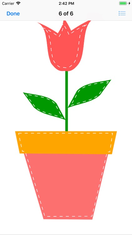 Potted Tulip Stickers screenshot-5