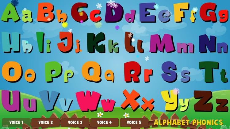 Alphabet Phonics - Talking Alphabet