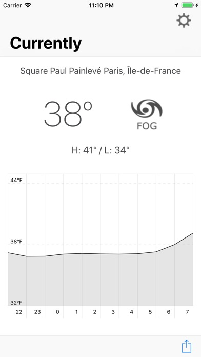Currently - Minimalist Weather Screenshots