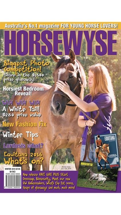 Horse Wyse Magazine - Australia's No.1 Horse Magazine for teen and tweens screenshot-4