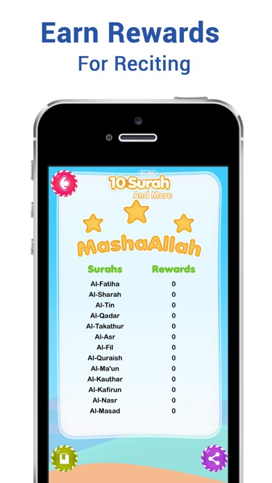 10 Surahs for Kids Word by Word Translation iOS Application