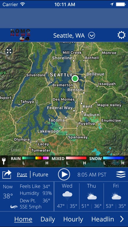 KOMO WX screenshot-0