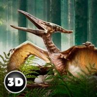 Flying Pterodactyl Dino Wildlife 3D