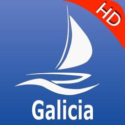 Galicia GPS Nautical Chart Pro