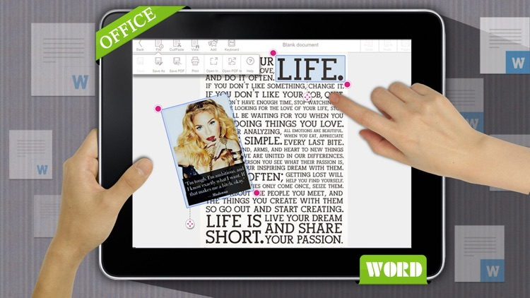 Quick Write Office - for Microsoft Office Document screenshot-4