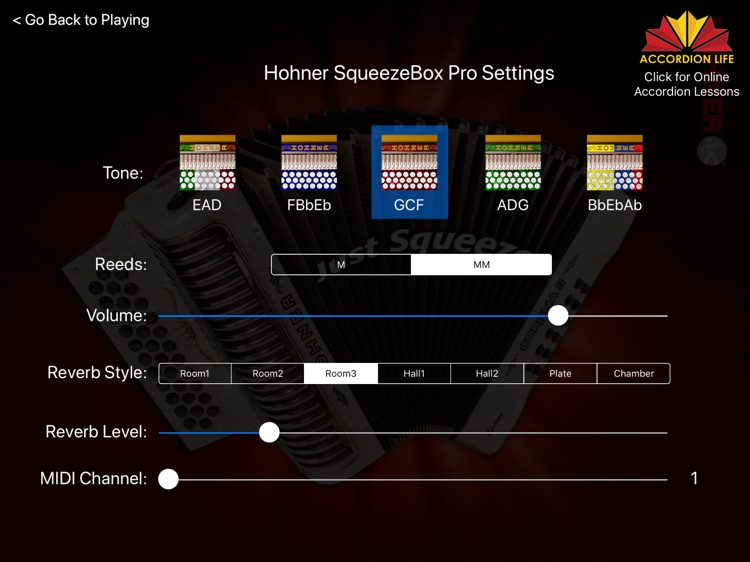 Hohner SqueezeBox screenshot-4