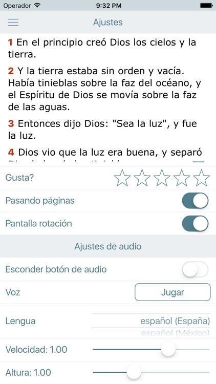 La Biblia Moderna en Español screenshot-4