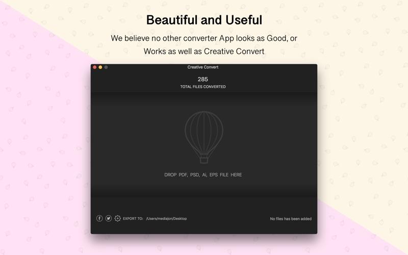 Creative Convert Screenshots