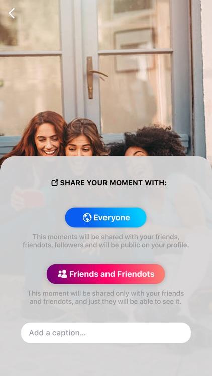 Friendots - Share your friends screenshot-8