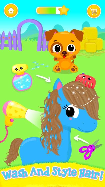 Cute & Tiny Horses screenshot-3