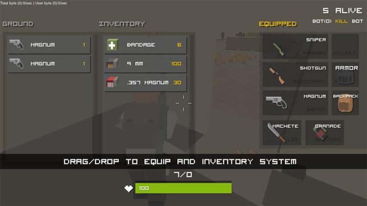 pixel unknown battle ground screenshot-7