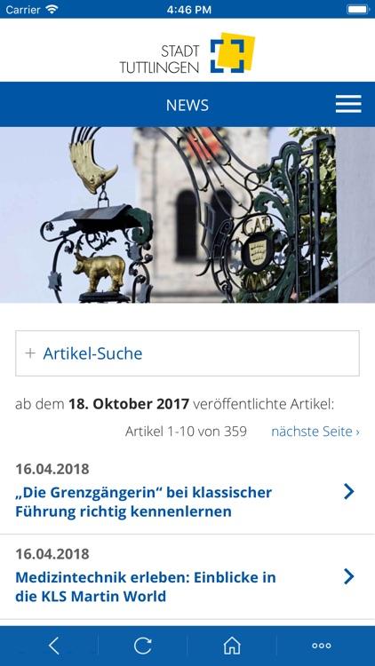 Tuttlingen City App screenshot-3