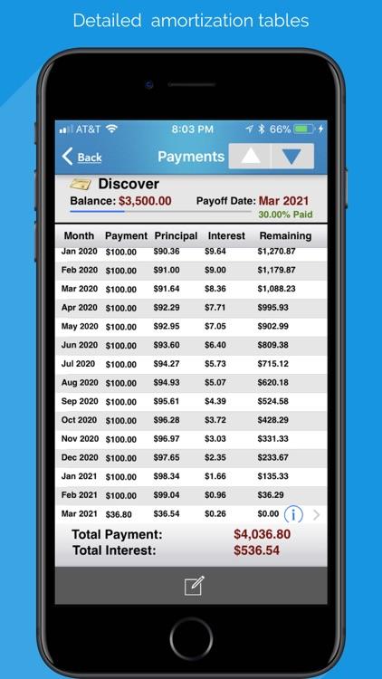 Debt Free - Pay Off your Debt screenshot-4