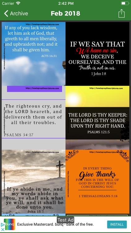 Daily Bible Verses -King James