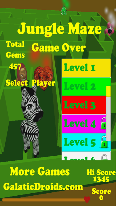 Jungle Maze screenshot two