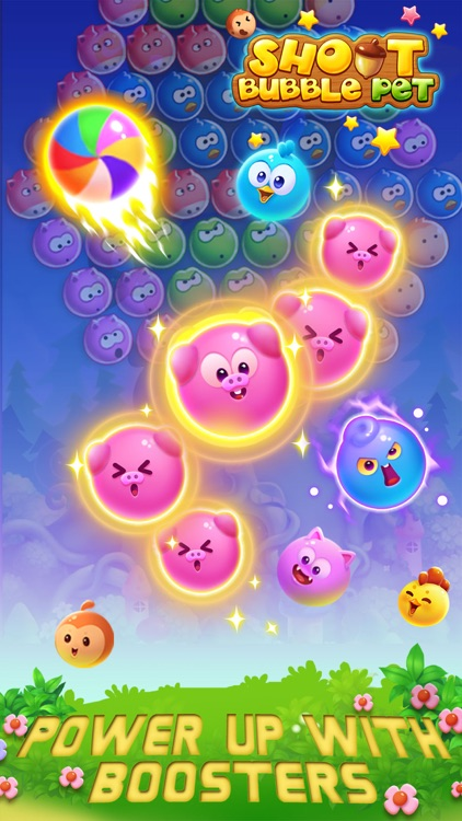 Bubble Shoot Pet screenshot-1