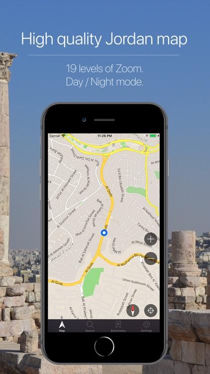 Jordan Offline Navigation