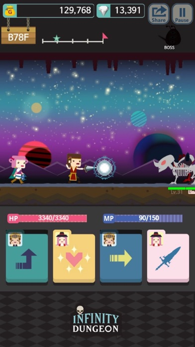 Screenshot #9 for Infinity Dungeon RPG VIP