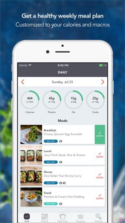 MealPrepPro - Healthy Meal Plans screenshot-0