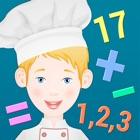 孩子的厨师 -学习数学 icon