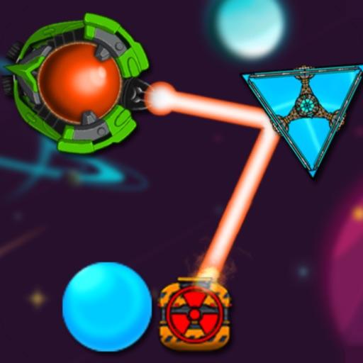 Laser Puzzle Galaxy