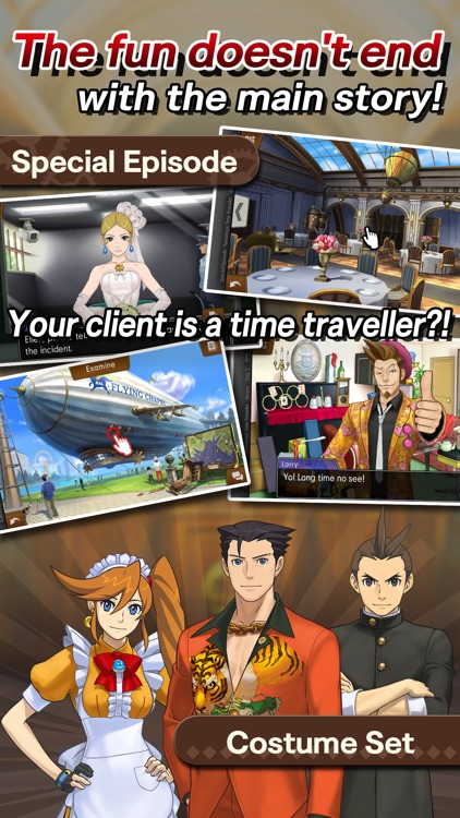 Ace Attorney Spirit of Justice screenshot-4