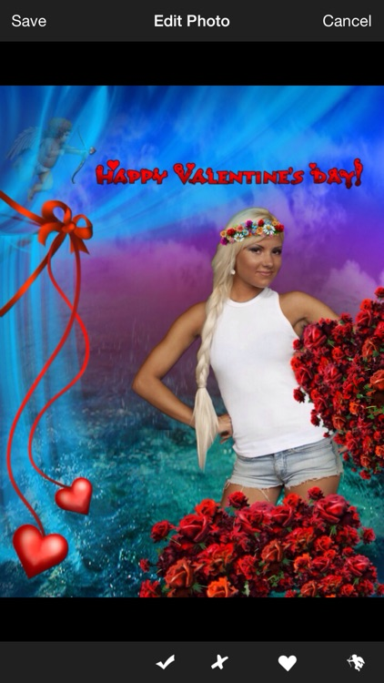 Valentine's Day Photo Booth screenshot-1