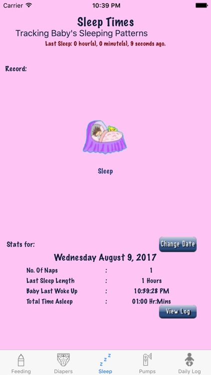 Baby's Diary screenshot-2