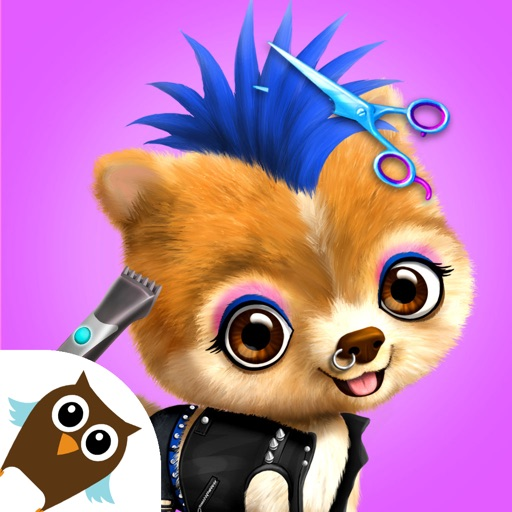 Animal Hair Salon & Dress Up iOS App