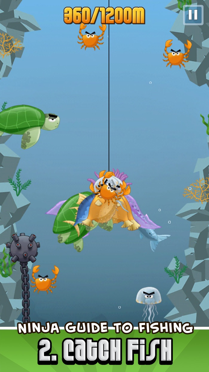 Ninja Fishing Screenshot