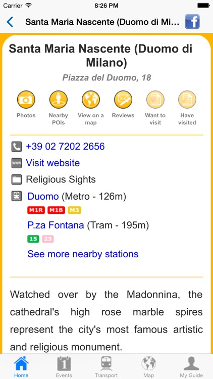 Milan Travel Guide Offline screenshot-4