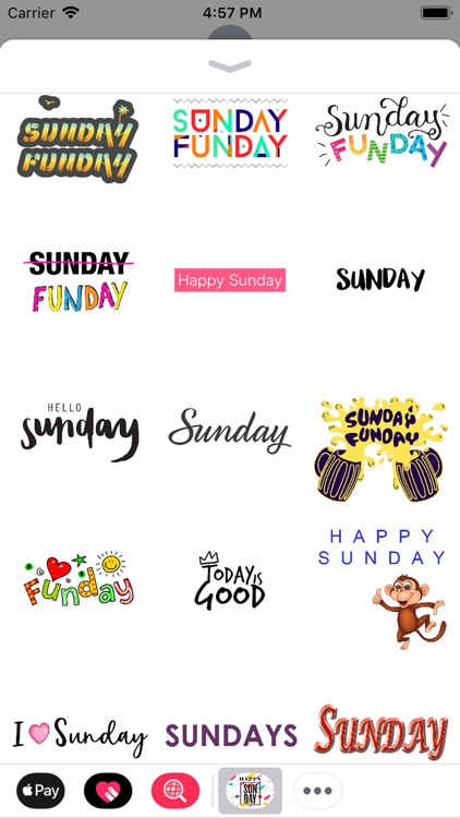 sunday stickers screenshot-8
