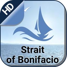 Strait of Bonifacio GPS Charts