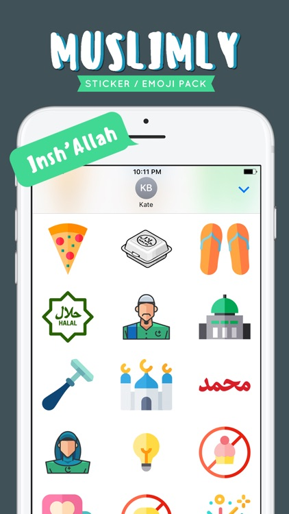 Muslimly - Emoji Pack screenshot-2
