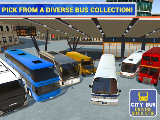 Игра City Bus Driving Sim