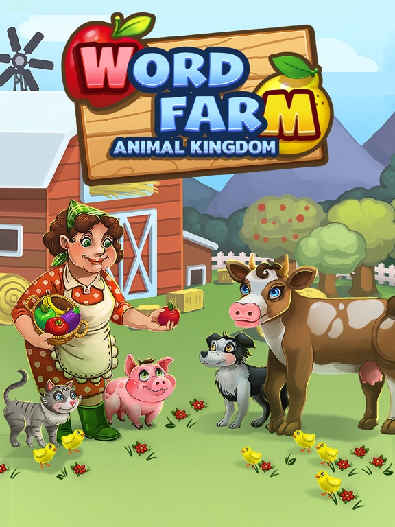 iPad Image of Word Farm - Search Puzzle Game