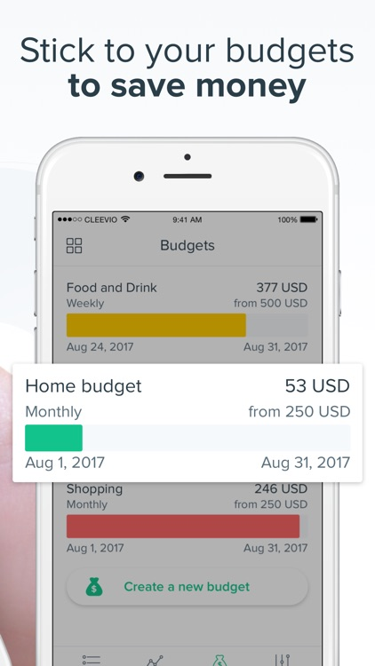 Spendee Budget & Money Tracker screenshot-3