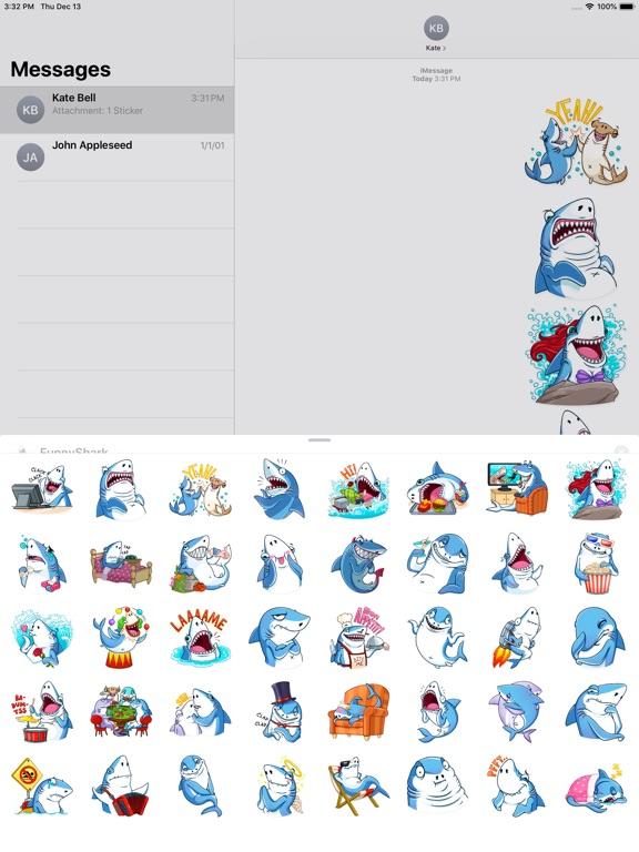 Funny Shark Sticker 2019 screenshot 6