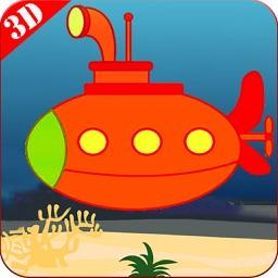 Mini UnderWater Submarine 3D