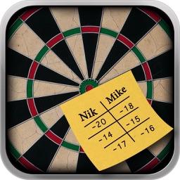 Darts Score Board