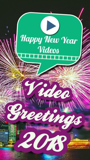 Video Greetings 2018 New Year on the App Store