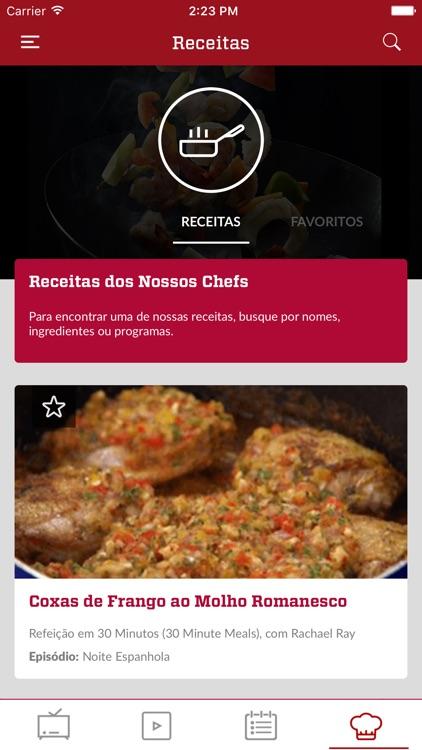 Food Network Brasil screenshot-6