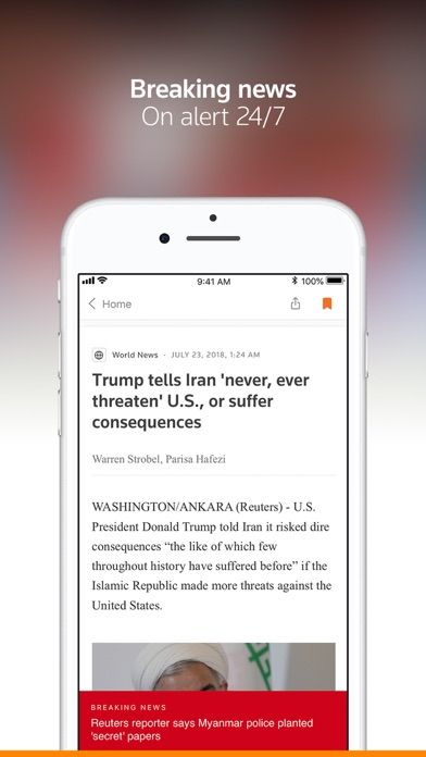 Reuters News review screenshots
