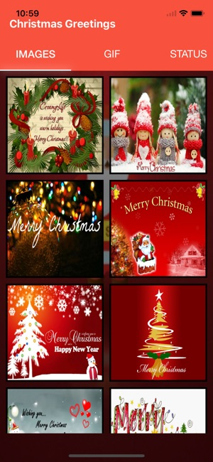 Christmas greetings best xmas on the app store screenshots m4hsunfo
