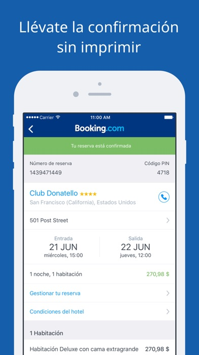 Screenshot for Booking.com - Ofertas de viaje in Dominican Republic App Store