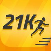 Half Marathon: 21K Runner training icon