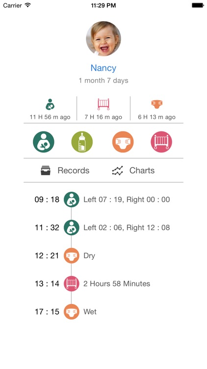 Baby Activity Tracker EX