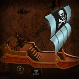 Tiny Pirate Ships : Treasures Hunter & Seeker - Free Edition