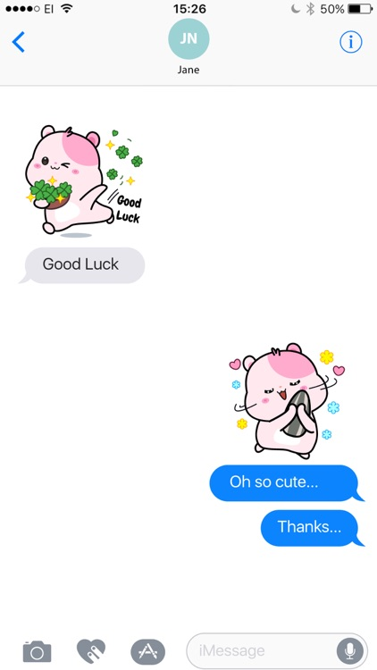 Kiki Hamster Stickers screenshot-3